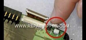 Disassemble an HP iPAQ hx2000 series PDA