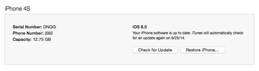 How to Downgrade an iPhone to iOS 7.1.2 from iOS 8