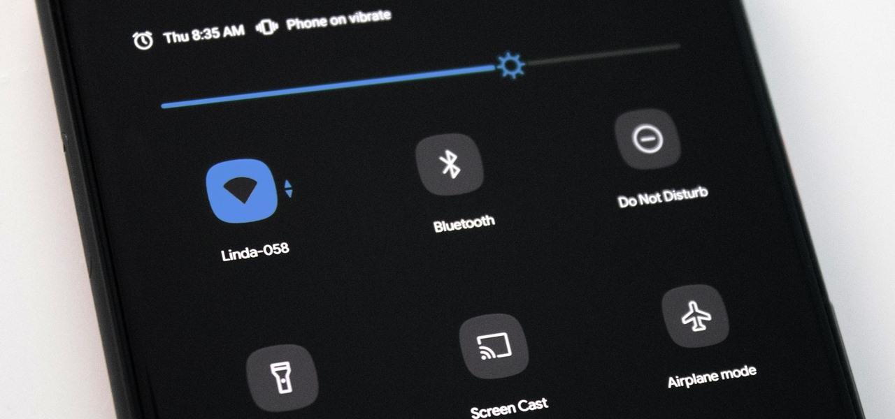 Disable the Pull-Down Quick Settings Menu on Your Pixel 4's Lock Screen