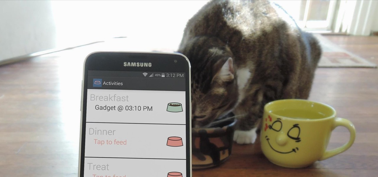 Keep Track of Your Pet's Daily Activities on Android