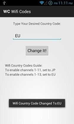 How to Change Your Android Device's Wi-Fi Country Code to Access Wireless Networks Abroad