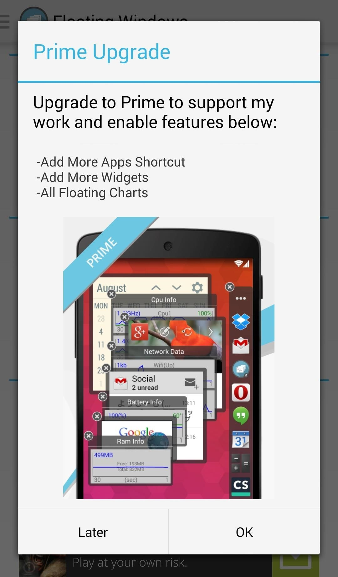 Add Floating, Resizable Widgets for Instant Multitasking on Android