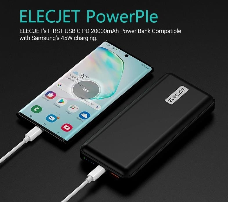 This is the best power bank for your Galaxy S20 Ultra - Super Fast Charging 2.0 with USB PD 3.0 & PPS Samsung supplied, so that this power bank can also charge up to 45 W with the flagship from the end of 2019. Who knows how many other third-party manufacturers will support these standards, but for now, use one of the few that do, especially given the low price. </p> <blockquote class=