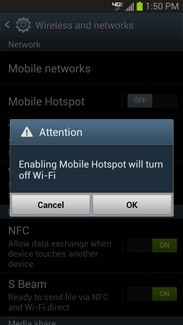 How to Turn Your Samsung Galaxy S3 into a Free Wi-Fi Hotspot