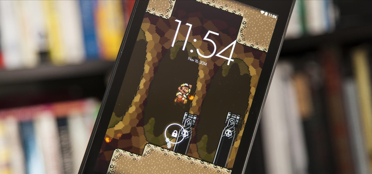 Classic Side-Scrolling Action for Your Home or Lock Screen