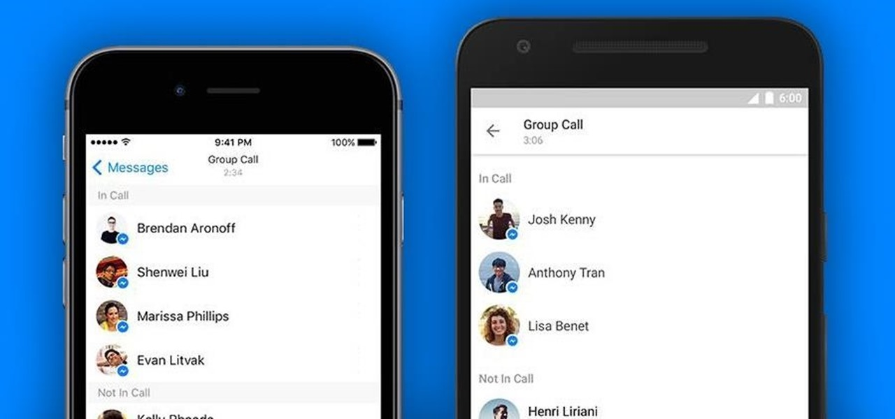 You Can Now Host a 50-Person Group Call on Facebook Messenger