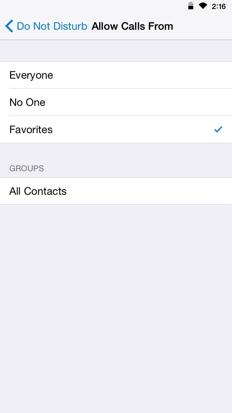 "Customize ""Do Not Disturb"" on Your iPhone So Important Calls Always Get Through"