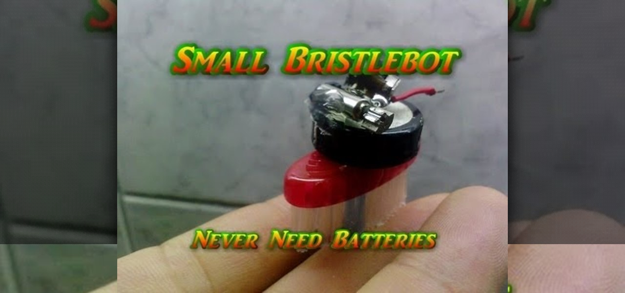 Small Bristlebot-Never Need Batteries!