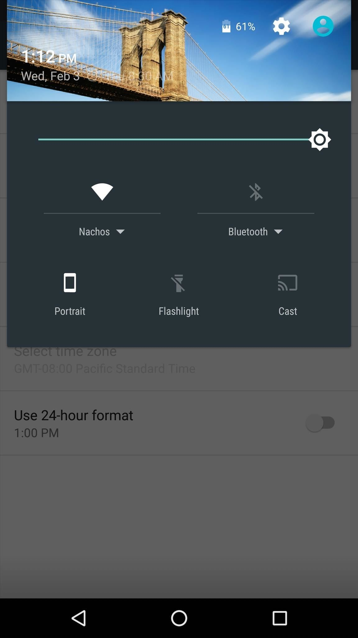 Customize Your Android's Pull-Down Menu with Beautiful Backgrounds