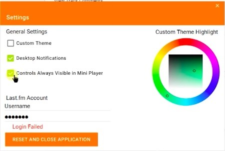 Finally    A Standalone Google Play Music Client for Windows