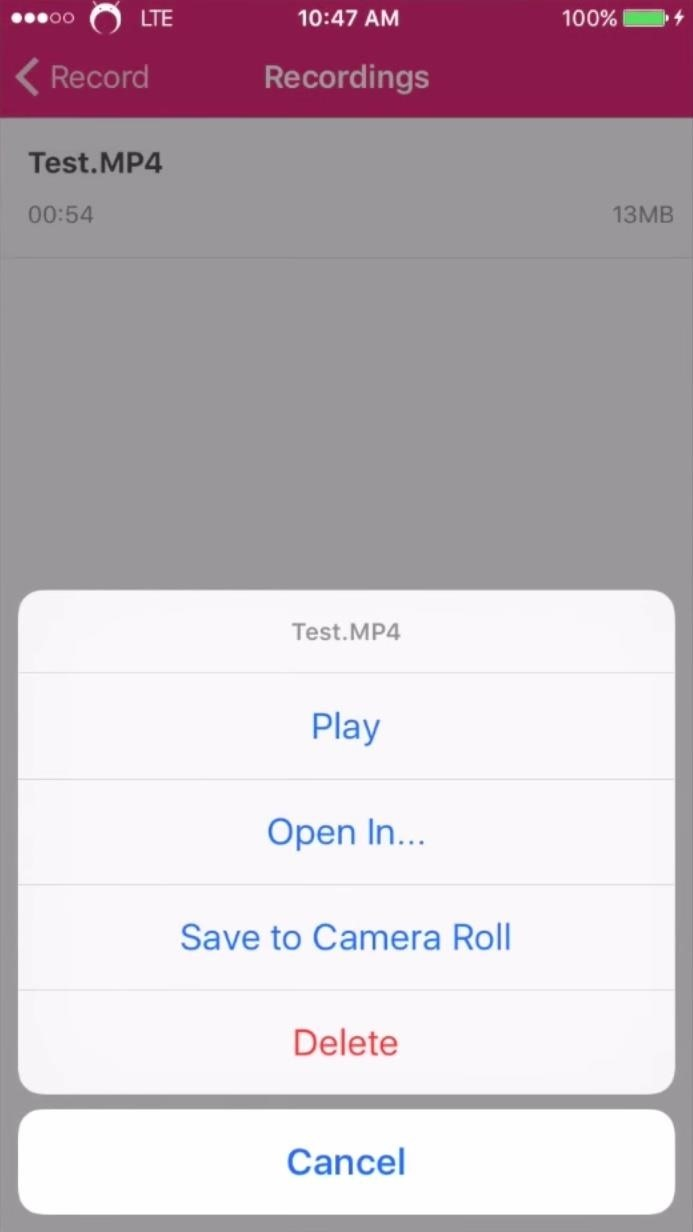 How to Record Your iPad or iPhone's Screen (No Jailbreak or Computer Required)