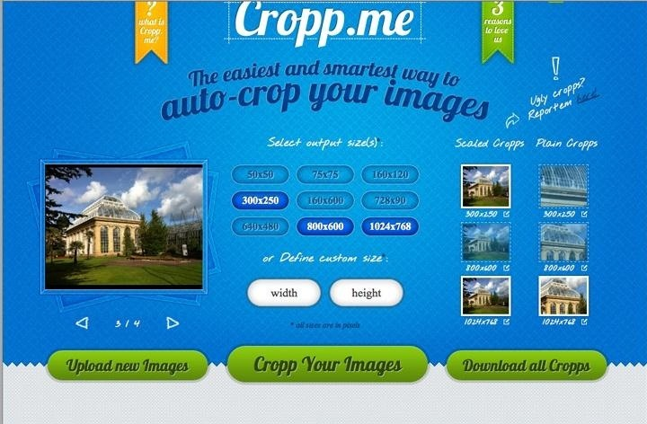 Don't Have Photoshop? Use the Free Web Tool Cropp.me to Crop and Resize Images Easily