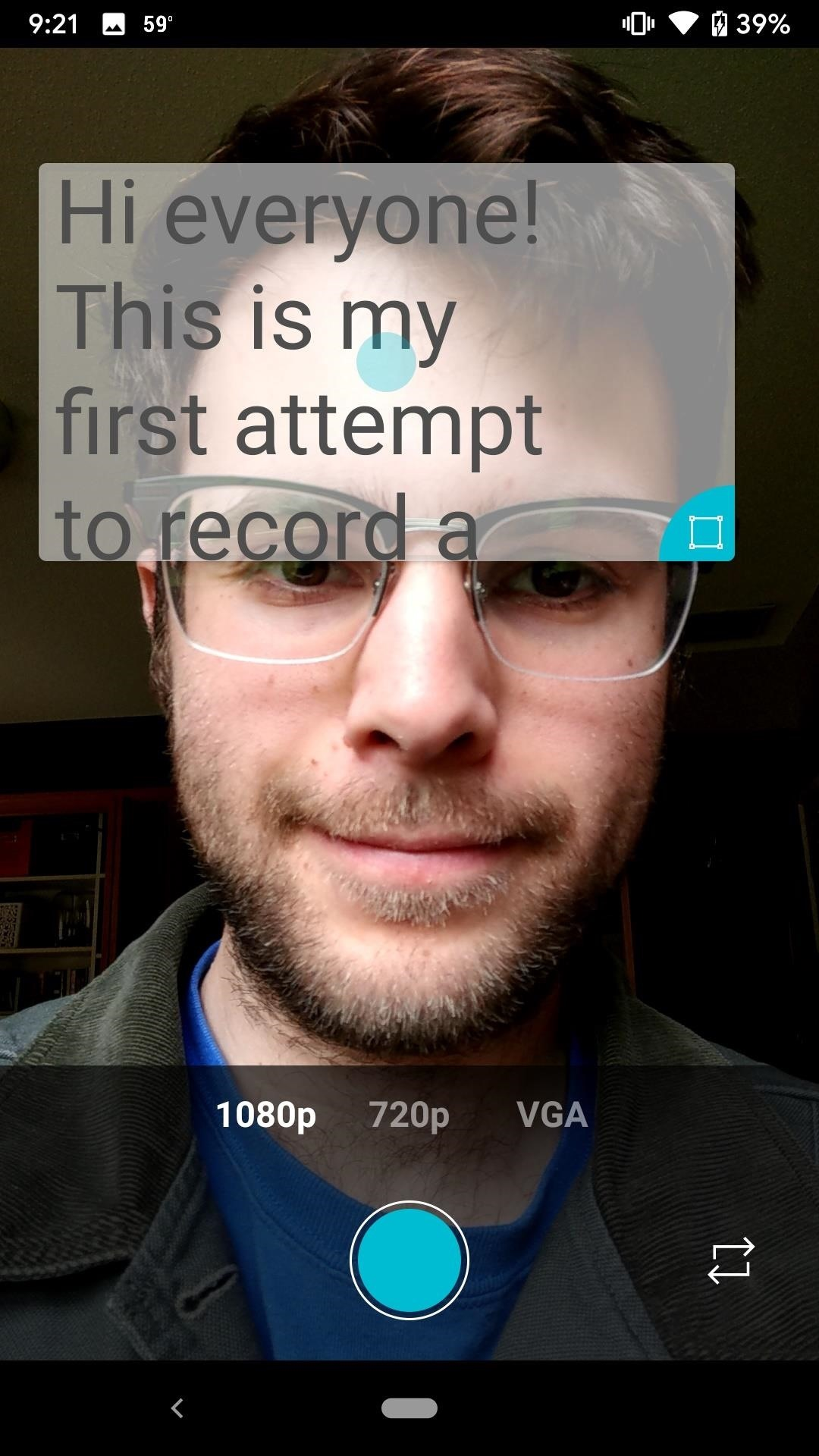 dce5cffafd133 Turn Your Phone into a Teleprompter to Record Selfie Videos Without ...