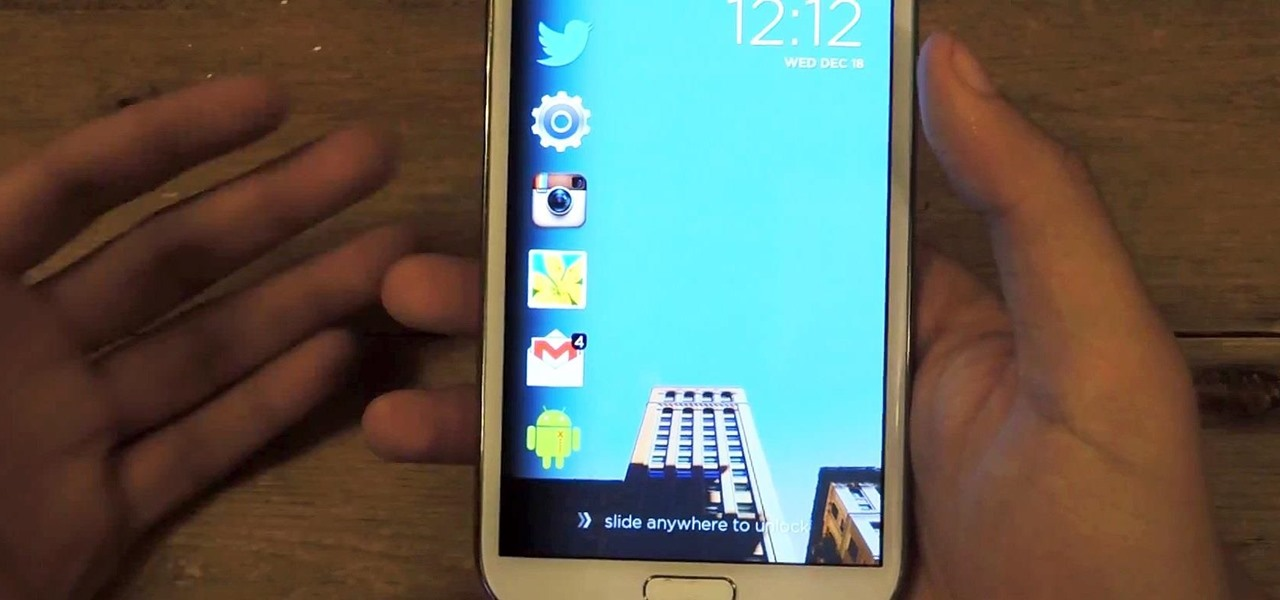 Make App Shortcuts on Your Galaxy Note 2's Lock Screen Adapt to Your Routine