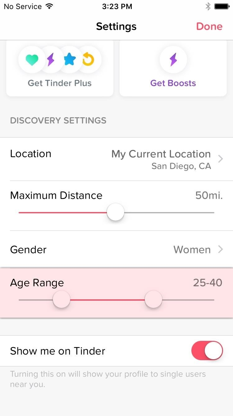 How to Reorder Profiles & Reset Matches in Tinder