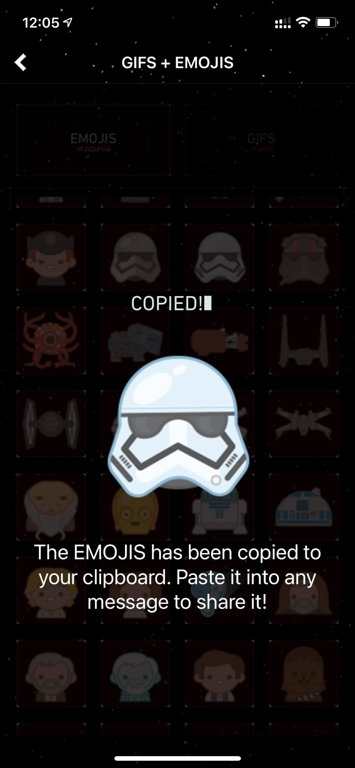 How to Send Star Wars Emoji in Text Messages & Chats
