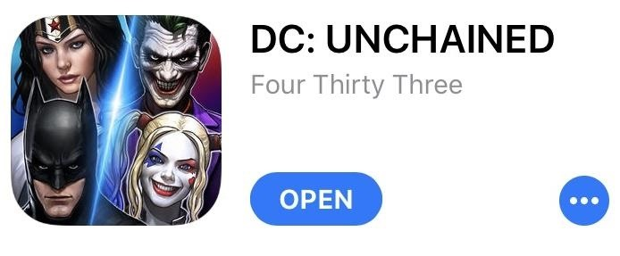 Play DC Unchained on Your iPhone Right Now