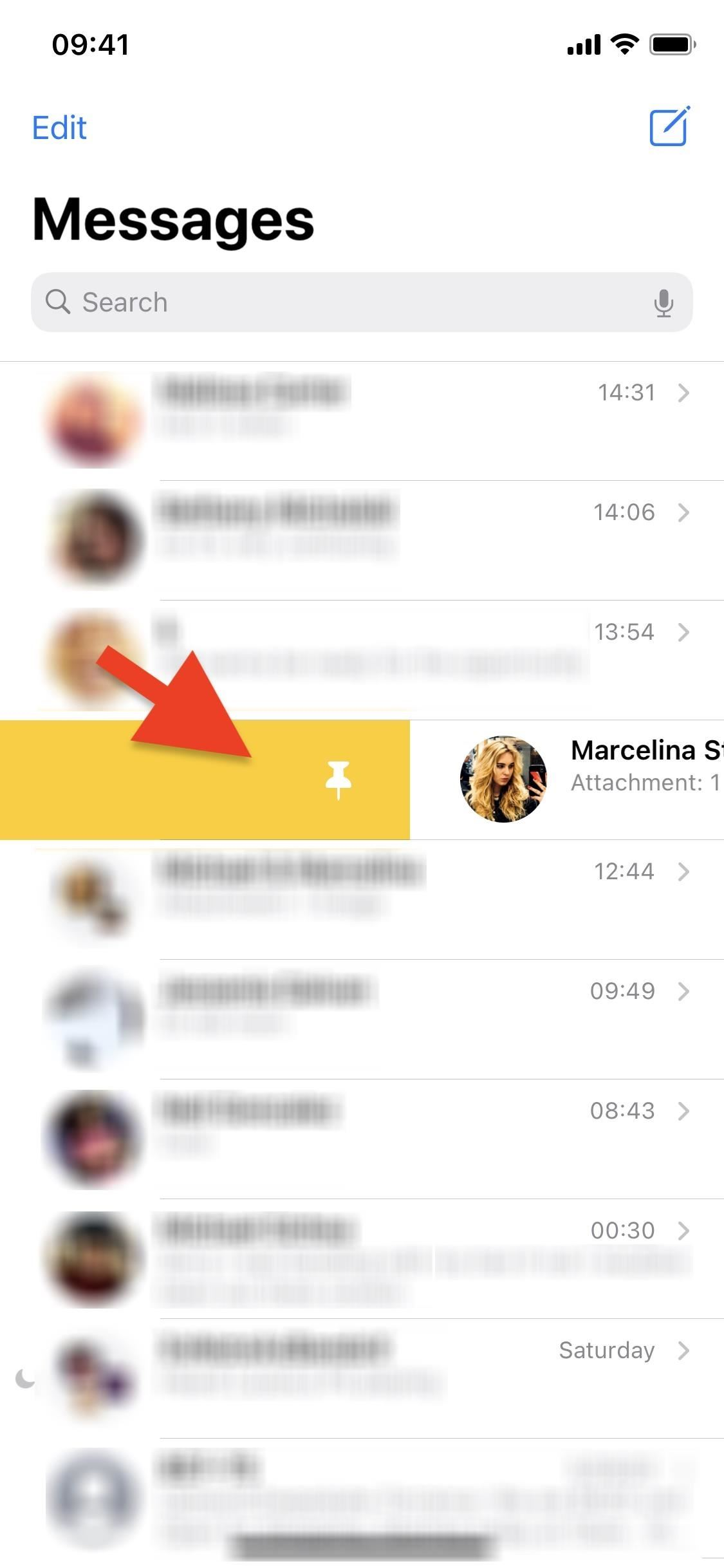 How to Pin & Unpin Conversations to the Top of Messages in iOS 14