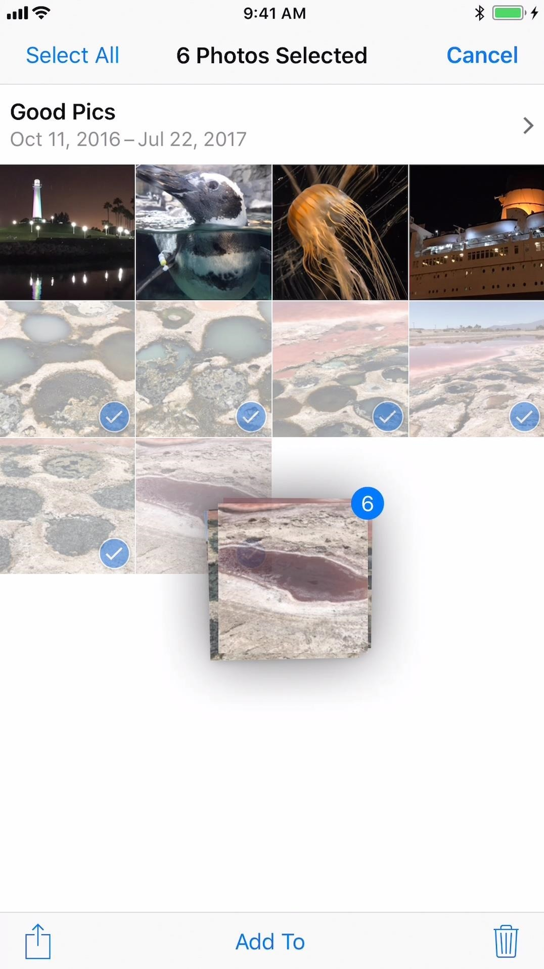 How to Drag & Drop Photos on Your iPhone in iOS 11