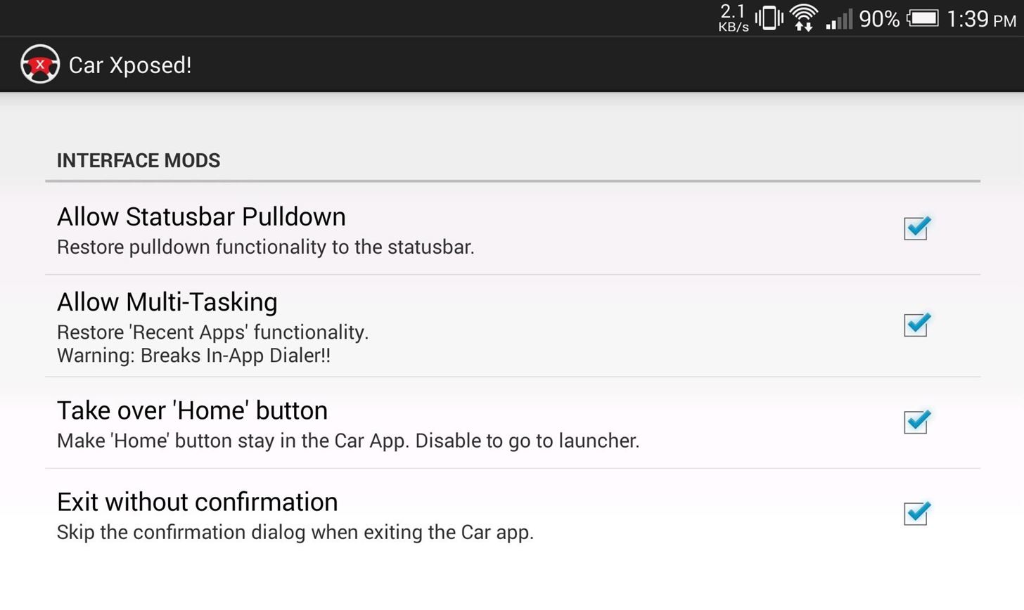 How to Remove Restrictions from Car Mode on the HTC One