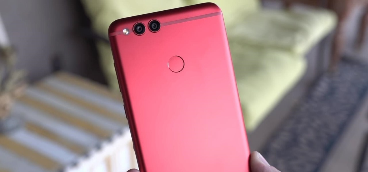 Limited Edition Red-Colored Honor 7X Coming to the US Just Before Valentine's Day