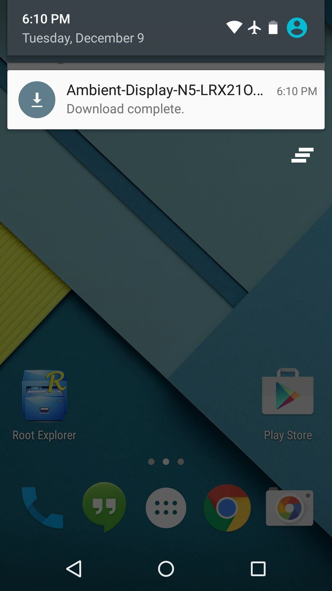 "Get Nexus 6 ""Ambient Display"" Notifications on Your Nexus 5"