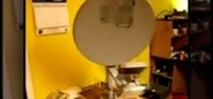 Hack a satellite dish into a WiFi signal booster