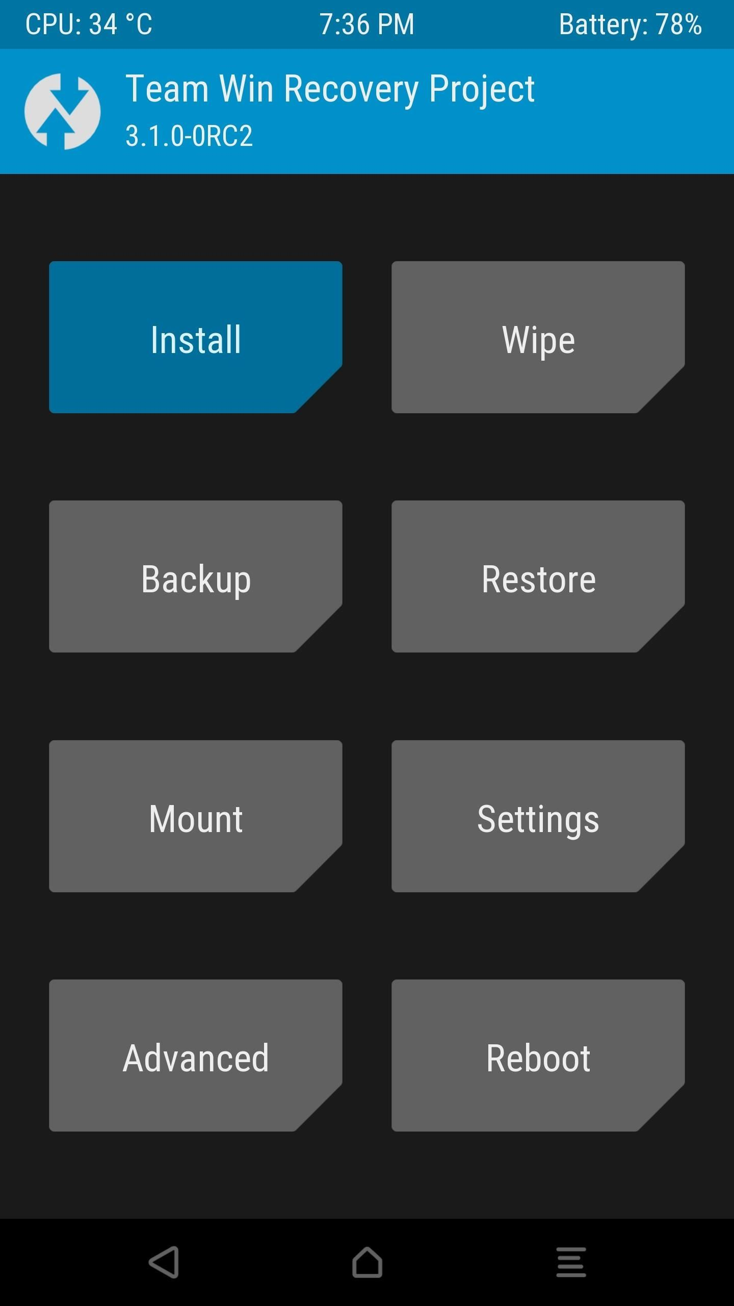 TWRP 101: How to Mount Your SD Card or USB OTG Drive to