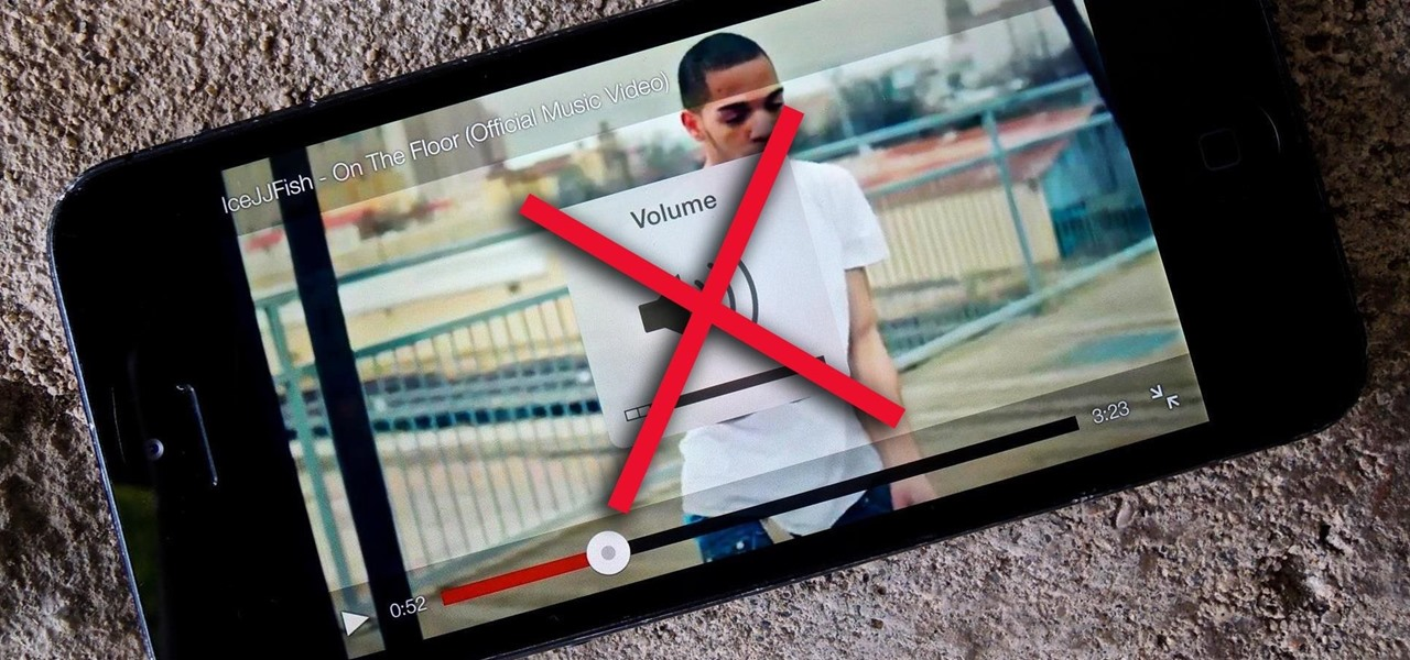 Get Rid of the Obtrusive Popup Box When Adjusting Video Volume in iOS 7.1