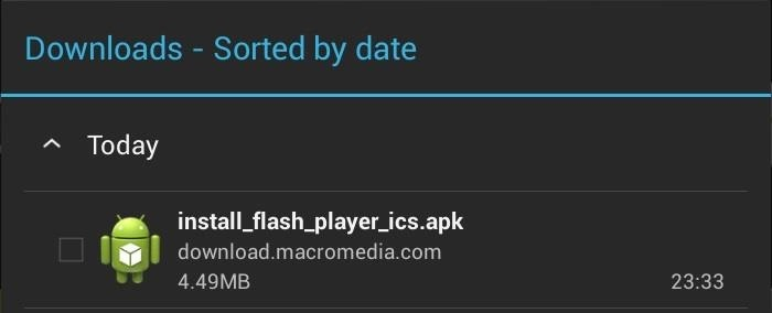 How to Install Flash Player on Your Nexus 7 Tablet to Watch Streaming Web-Based Flash Videos