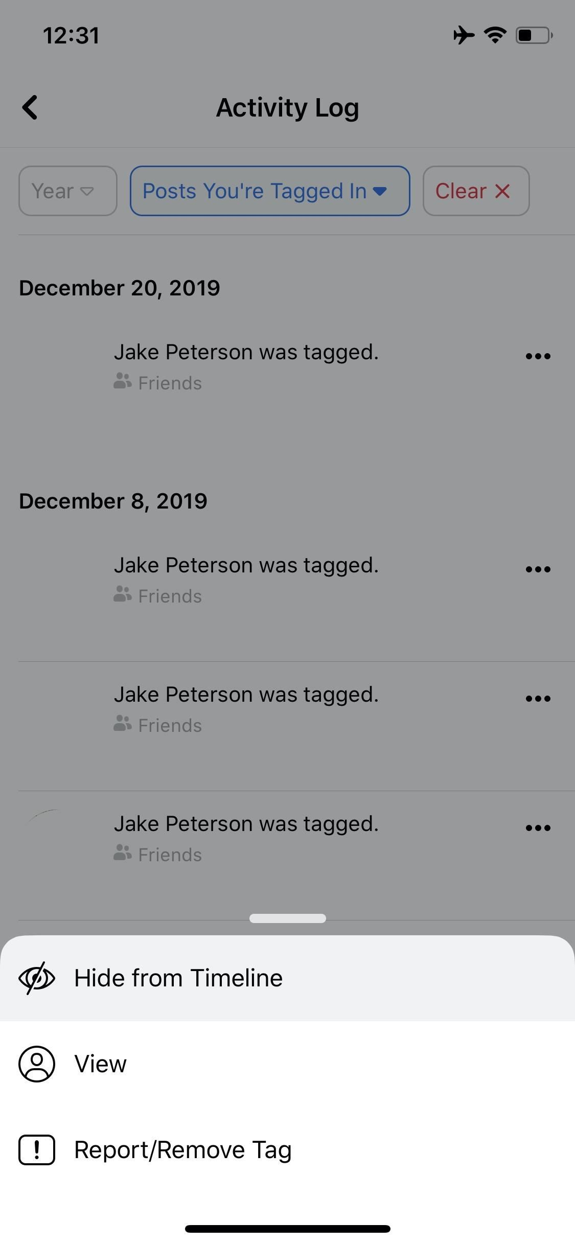 Apps and websites Send your activity to Facebook - Here you can see, manage and delete it