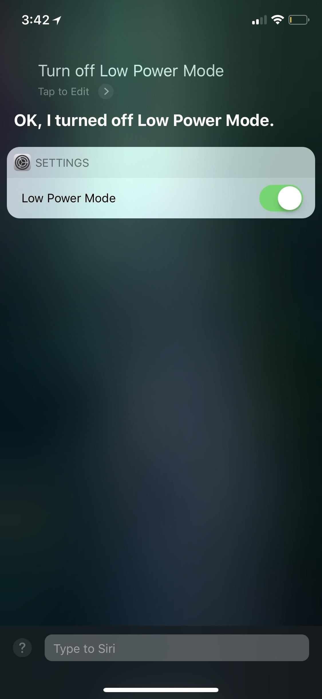 How to Turn Off 'Low Power Mode' on Your iPhone to Speed Things Up Again