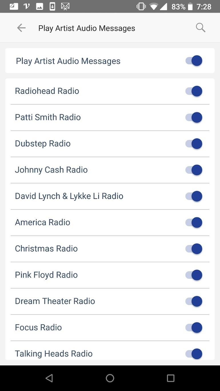 How to Disable Those Annoying Artist Announcements on Pandora