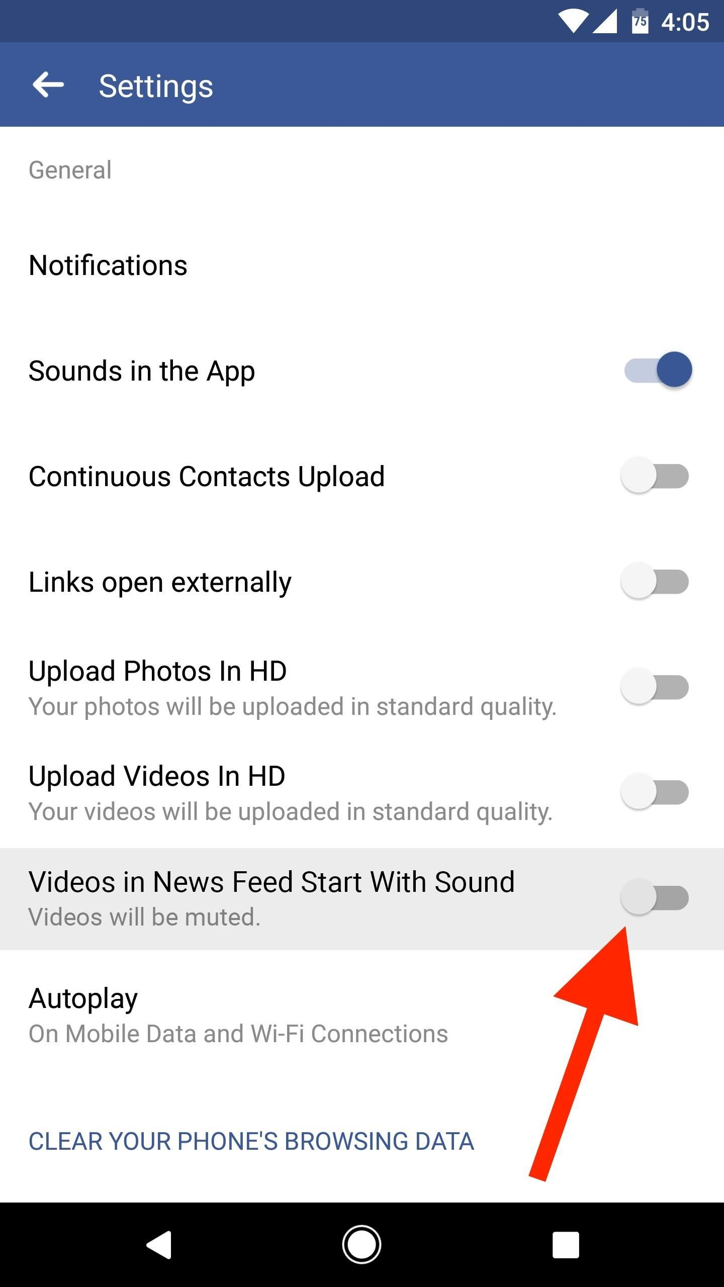 Facebook 101: How to Turn Off Auto-Playing Sound for Facebook Videos on Android & iPhone