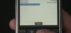 Update your BlackBerry's software over a wireless network