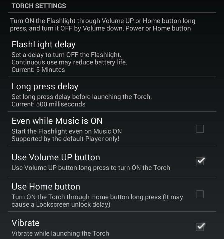 How to Set the Volume Buttons to Instantly Control the Flashlight on Your HTC One
