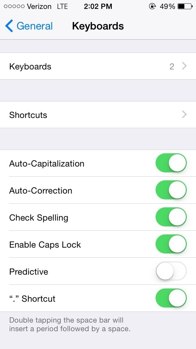 14 ios 8 privacy settings everyone needs to understand and probably concern 1 the keyboard can store your passwords ccuart Images