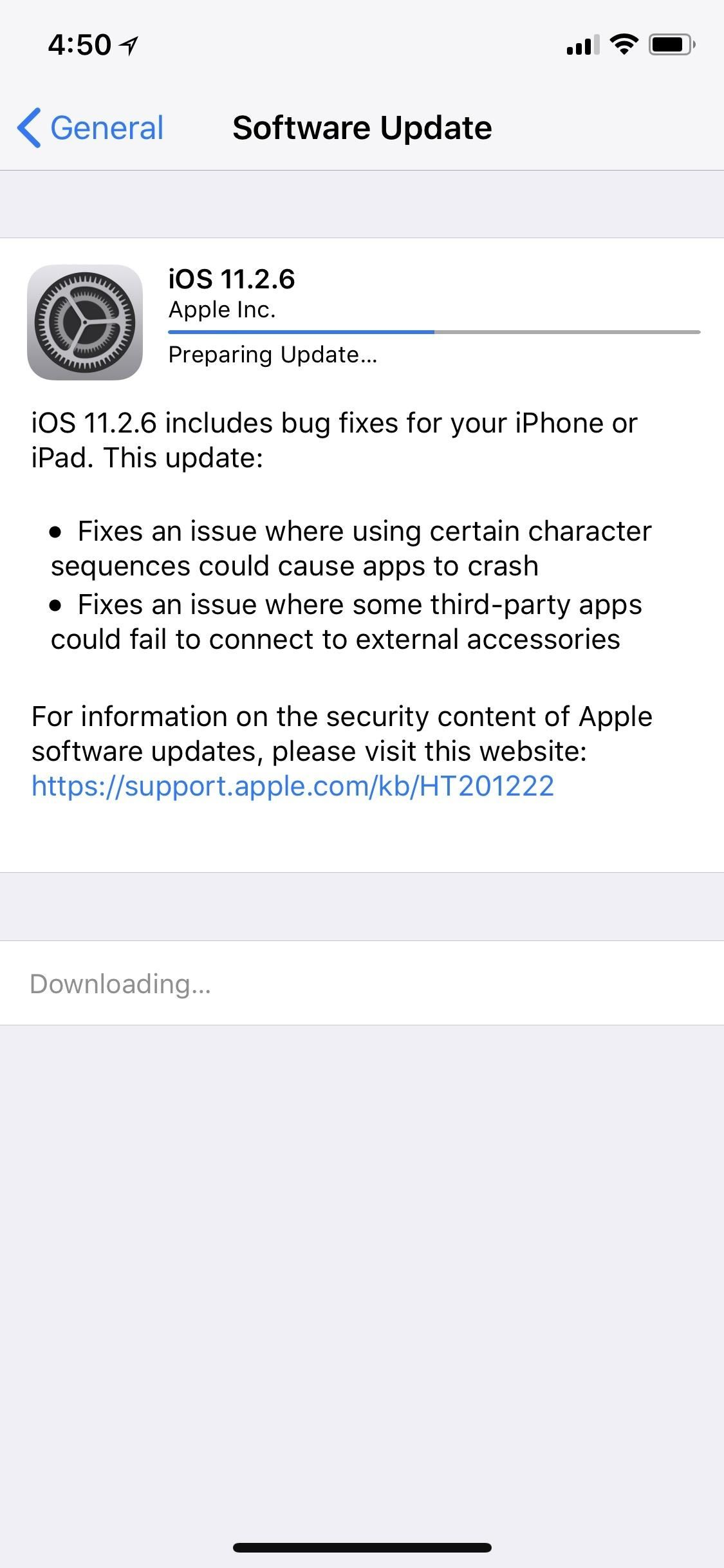 ios 11 update download