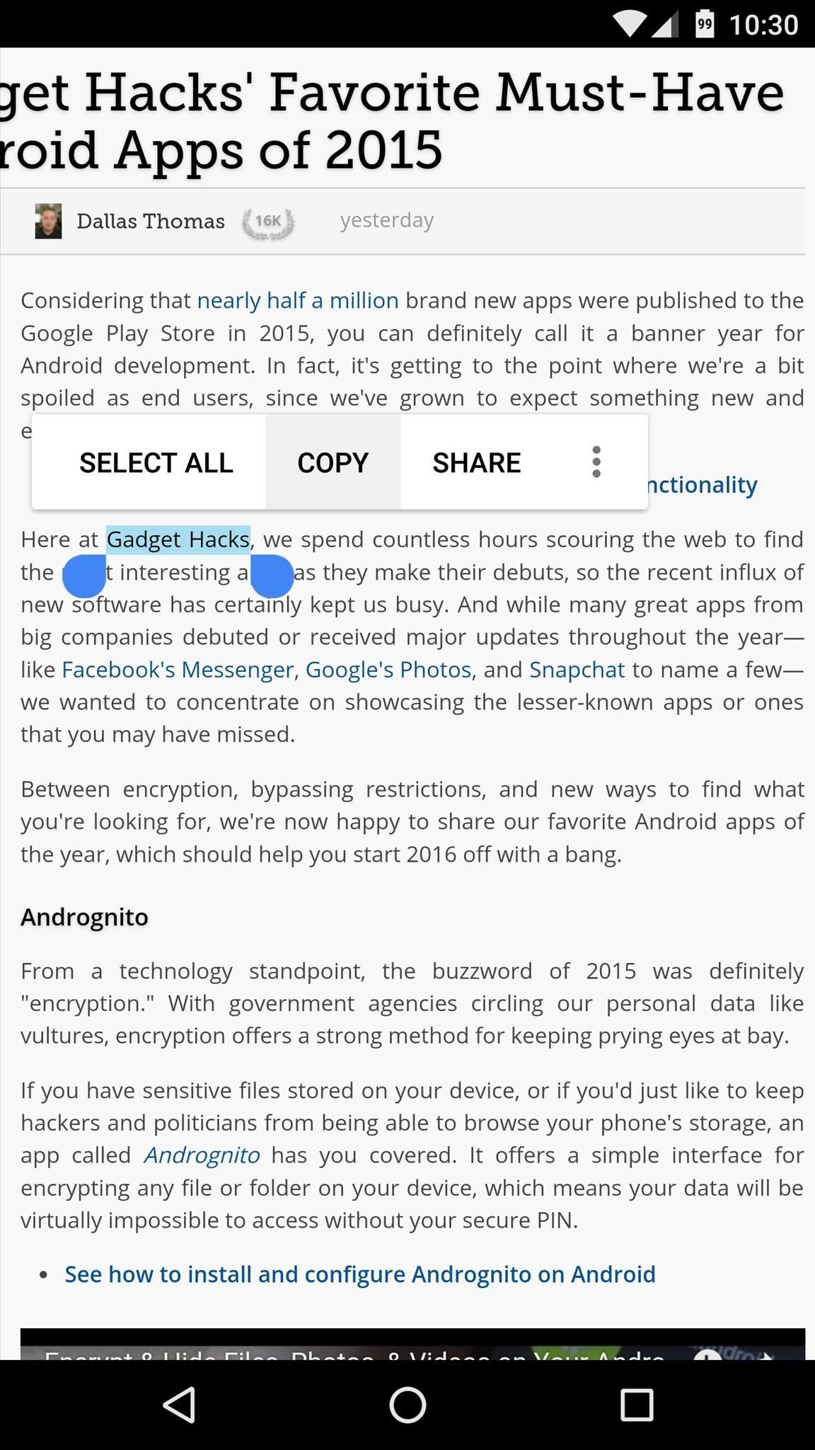 Make Copy/Paste Insanely Better on Android with Clipboard