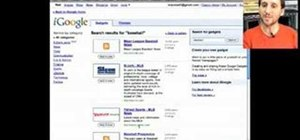 Create a browser home page with iGoogle