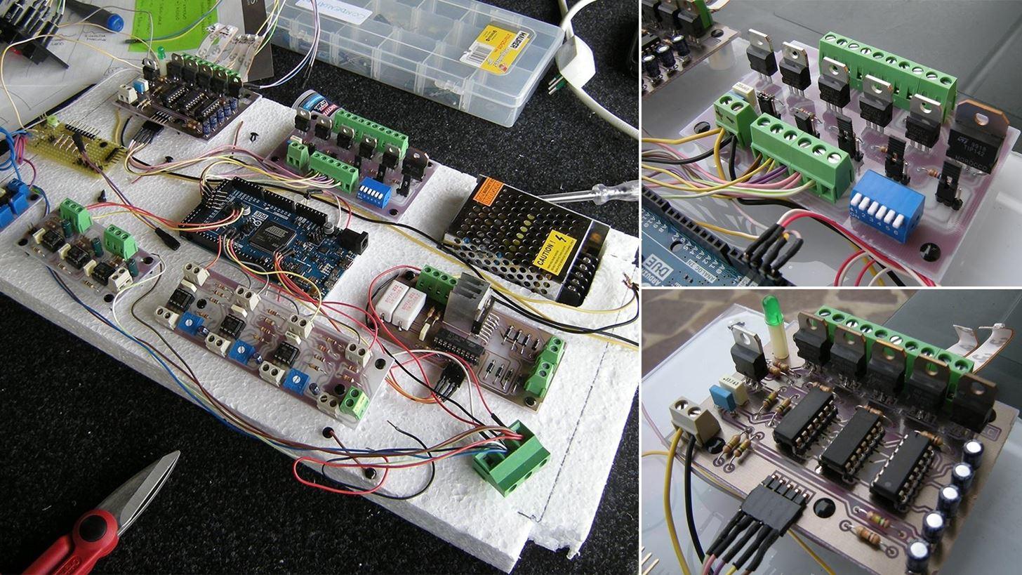 Arduino Mix Machine