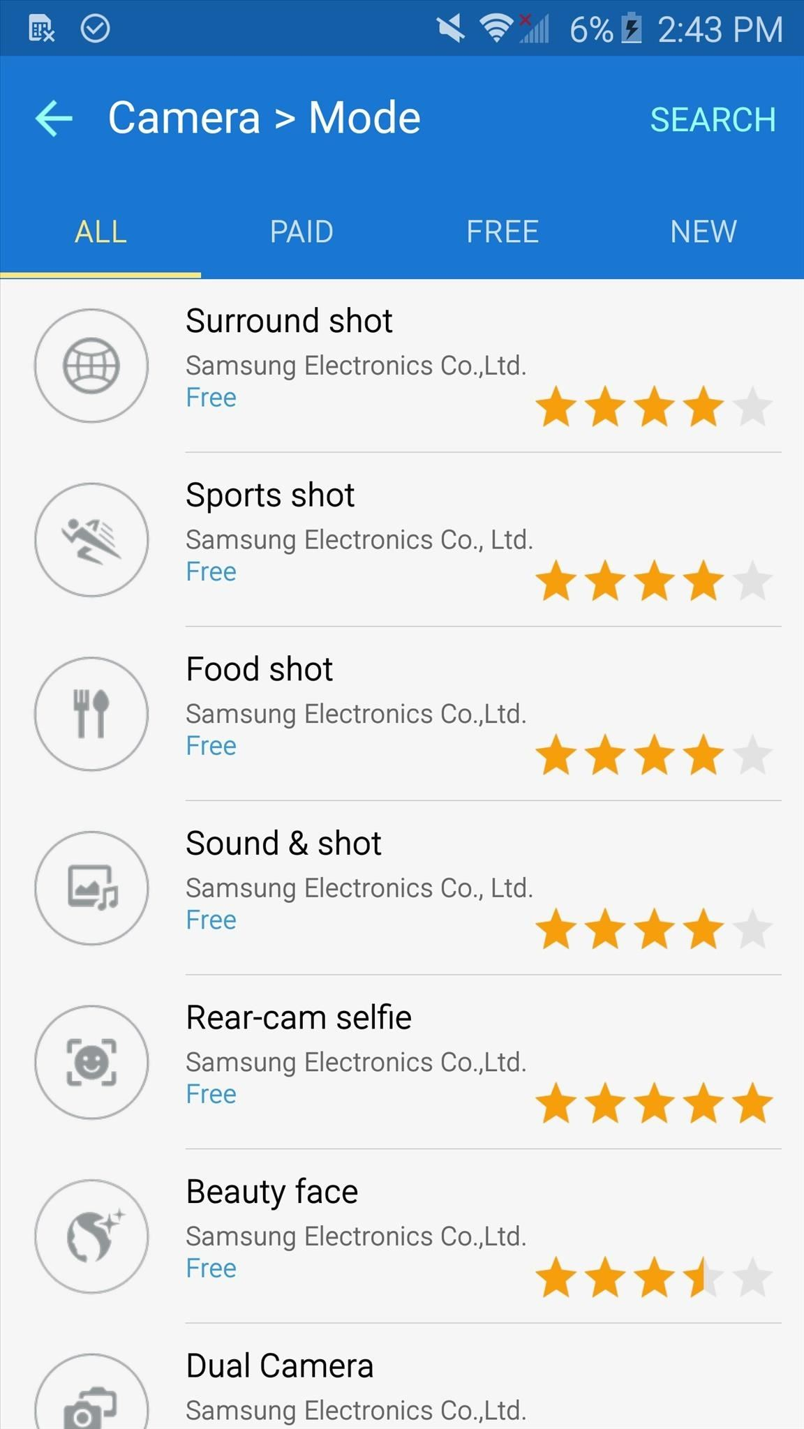 How to Download Additional Camera Modes on a Samsung Galaxy S6