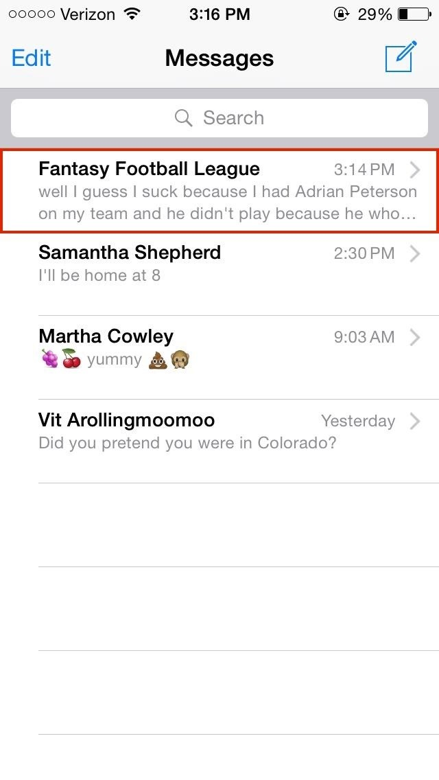 How to Give Group Messages Custom Names in iOS 8