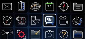 Create a new contact in BlackBerry Messenger