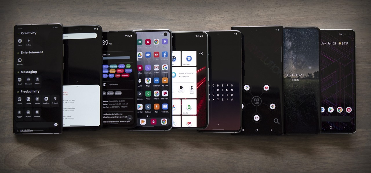 9 Fresh New Android Launchers to Replace Your Boring Home Screen (2021 Edition)