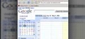 Master Google Calendar