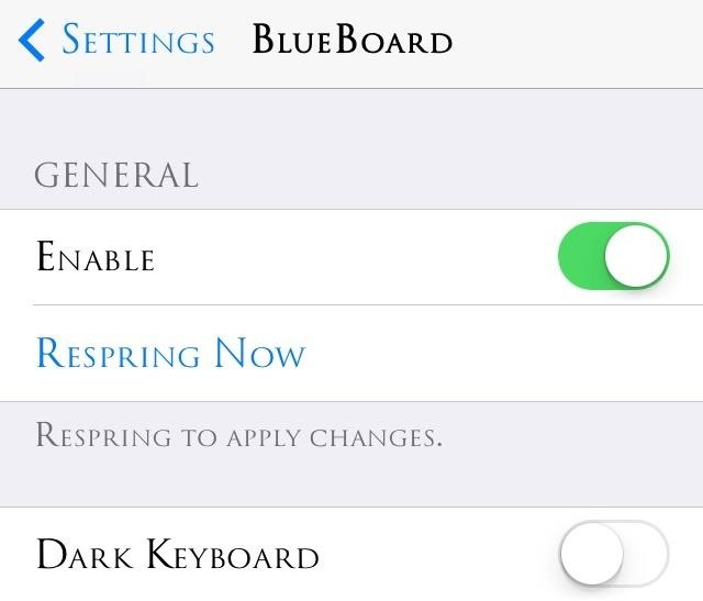 Turn Your iPad or iPhone's Bland Keyboard Blue with This Easy iOS 7 Tweak