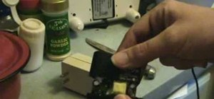 Open a power supply without destroying a transformer