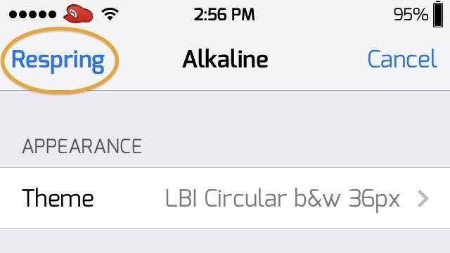 How to Change the Boring Battery Icon in Your iPhone's Status Bar to Something More Flavorful