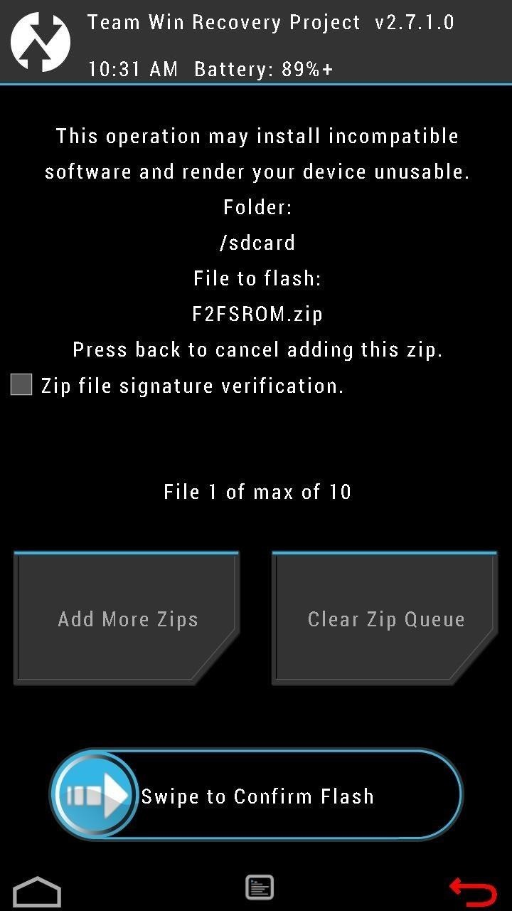 Convert Any KitKat ROM on Your Nexus 4 or 5 to a Faster Flash-Friendly File System